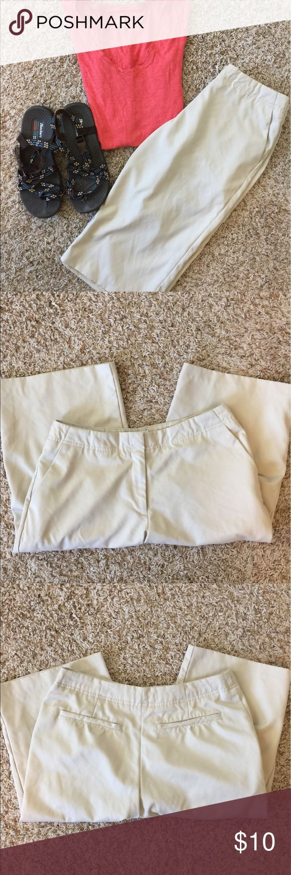 Lilly Of Beverly Hills Long Shorts Lilly Of Beverly Hills. Size 6. Not sure if they are long shorts or  short pants. I posted a picture of the inseam. They have a zipper pocket on side of one leg and two reg pockets. The material is very soft. Preowned in great condition with no known tears snags or stains. Comes from smoke free and clean home. Remember to save when you bundle. Thanks lilly of beverly hills Shorts