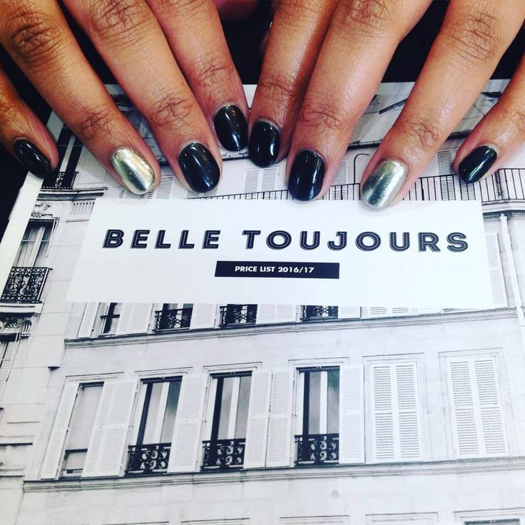 We are loving chrome nails!   We have one appointment available for nails today at 13:00 with Keesha.  Call the salon on 02920221608 to secure your appointment.   #ChromeNails #BelleToujours #BioSculpture