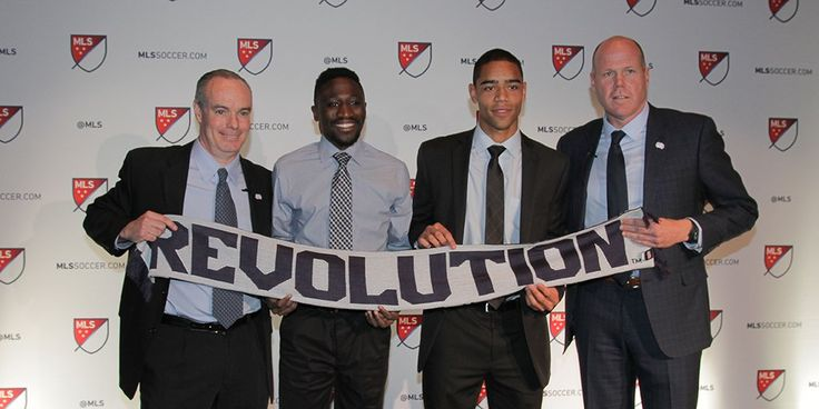 Mark Segbers and Brandon Bye, New England Revolution, MLS 2018 SuperDraft