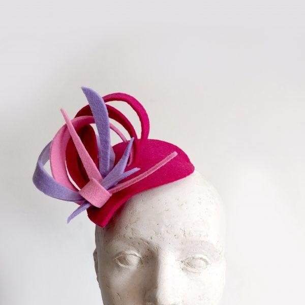 IULIA Fascinator hat made by Eventivity Accessorize