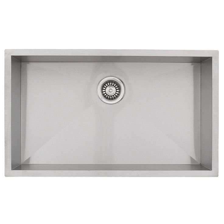 Phoenix Undermount 16 Gauge Stainless Steel Square Kitchen Sink Zero Radius     You Can Get Additional Details At The Image Link.