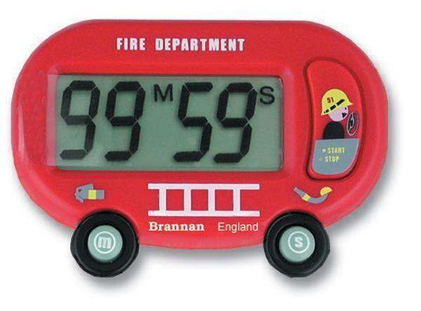 Digital Timer - Fire Engine Model