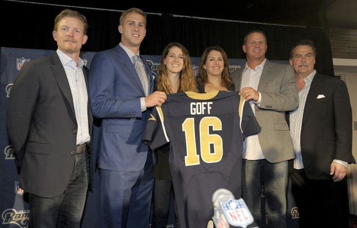 The Rams QB of the future...Jared Goff - Turf Show Times