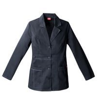 82408 Dickies Gen Flex Youtility Lab Coat for women in Graphite grey