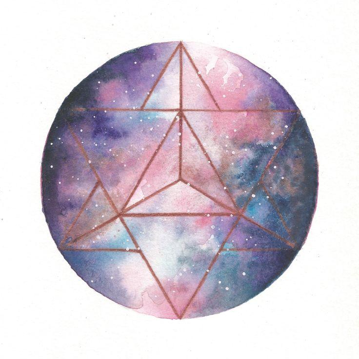 Universal Dualism | Sacred Geometry Art Print by Kari Weatherbee