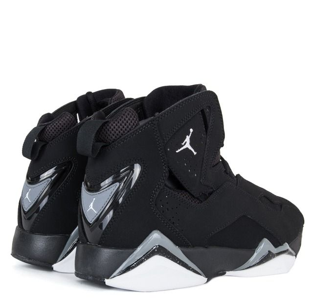 Jordan True Flight - White Black Cool Grey