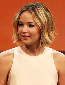 Jennifer Lawrence at 214. Wetten, dass..? show in Graz, 8. Nov. 2014 cropped.jpg