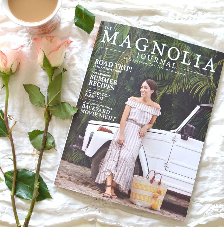 Favorite magazine for farmhouse style home decor. Magnolia Home Journal