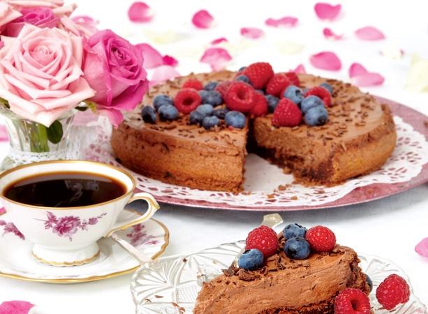Chokladmoussetårta med whisky | .Hembakat | whisky chocolate mousse cake