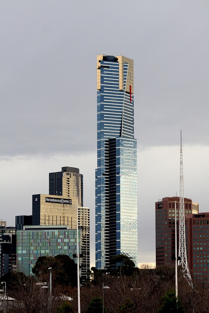 Eureka Tower - Melbourne, Victoria. Visited in 2010 with John.