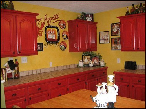 Best 25 chef kitchen decor ideas on pinterest - Decorating ideas cheerful kitchen ...