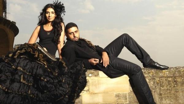 Abhishek Bachchan and Shweta Nanda photos. love him!