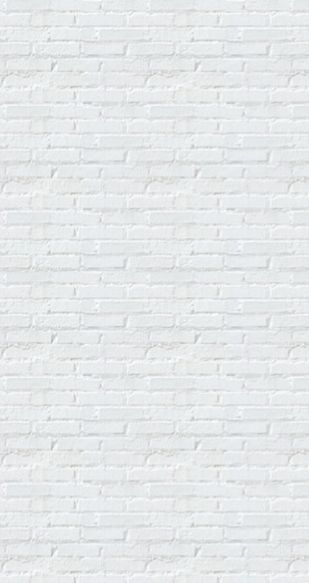White washed brick wall. What more do you need?
