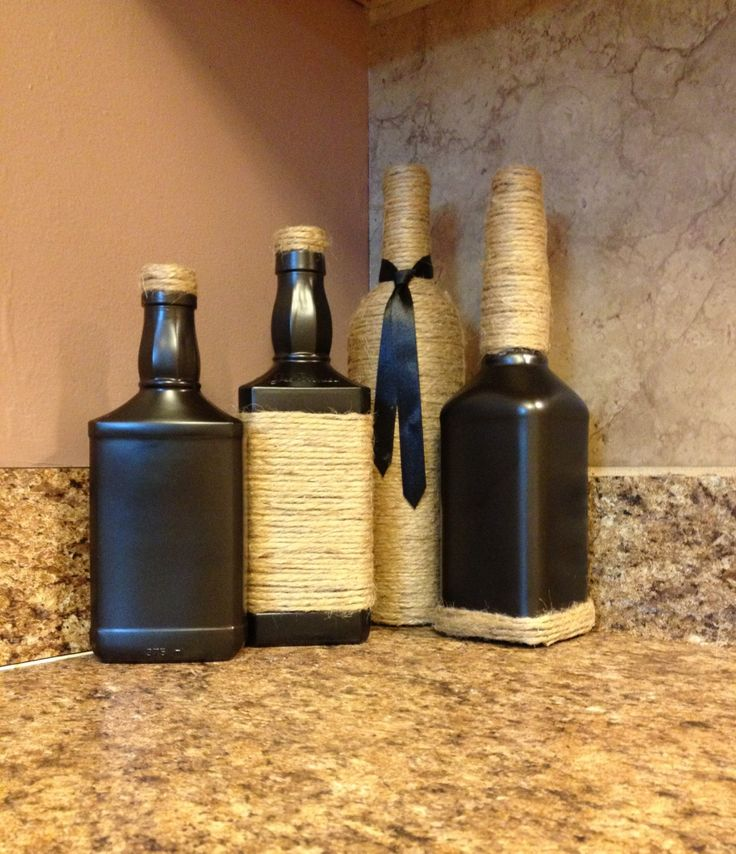 25 Best Ideas About Whiskey Bottle Crafts On Pinterest