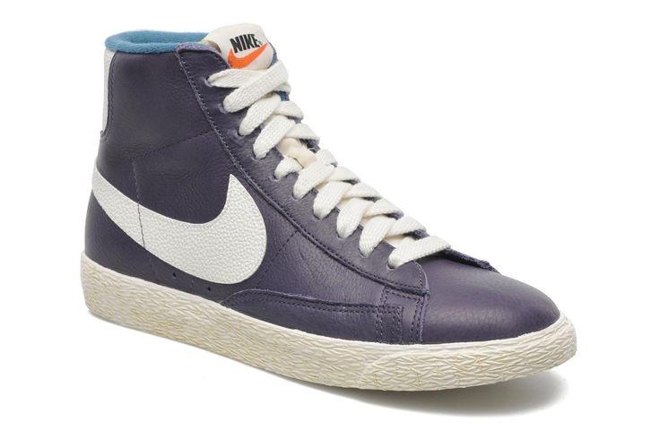 ¡Cómpralo ya!. Wmns Blazer Mid Lthr Vintage by NikeRebajas - 0%. ¡Envío GRATIS en 48hr! Deportivas Nike (Mujer), disponible en 37 1/2 38 , americana, americana, blazer, levita, levita, americanas, americanabásica, blezer, blazerdepunto, frock-coat. Americana  de mujer color púrpura de Nike.