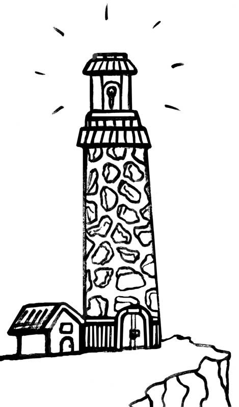 Lighthouse keepers lunch coloring book pages ~ 40 best lighthouses images on Pinterest   Light house ...