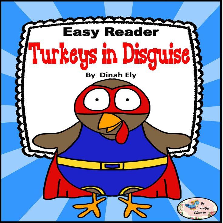 Turkeys In Disguise Mini Book Turkey Disguise