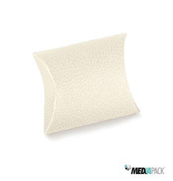 Almofada de cartão disponível em vários tamanhos. http://loja.mediapack.com/pt/embalagens-de-cartao/com-impressao/outros-formatos/almofada-de-cartao-branca/