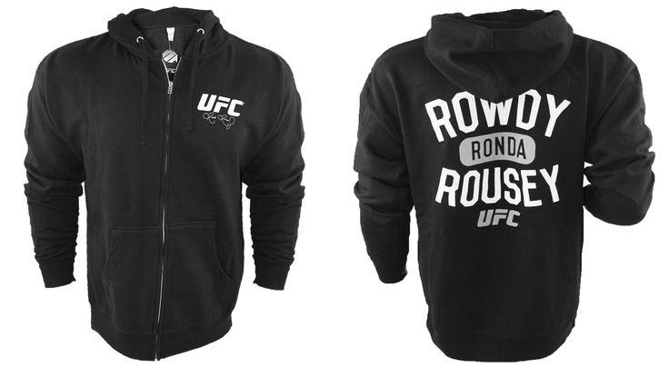UFC Ronda Rousey UFC 170 Walkout Hoodie - http://www.fighterstyle.com/ufc-ronda-rousey-ufc-170-walkout-hoodie/