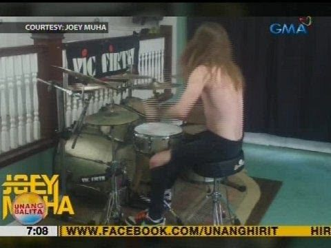 """UB: Video ng Canadian drummer na tinugtog ang theme song ng """"Eat Bulaga!"""", viral - WATCH VIDEO HERE -> http://philippinesonline.info/aldub/ub-video-ng-canadian-drummer-na-tinugtog-ang-theme-song-ng-eat-bulaga-viral/   Subscribe to the GMA News and Public Affairs channel:  Visit the GMA News and Public Affairs Portal:  Connect with us on: Facebook: Twitter:  Video credit to GMA News YouTube channel"""