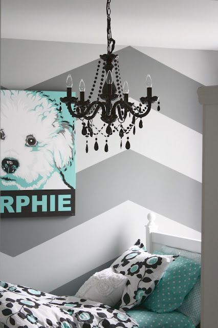 Best tutorial for how to do a chevron wall. Planning to do this in our living room this week...wish me luck!
