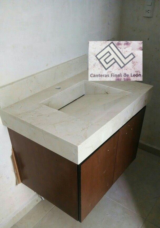 Cubierta para ba o marmol crema marfil marmol y granito - Granito y marmol ...