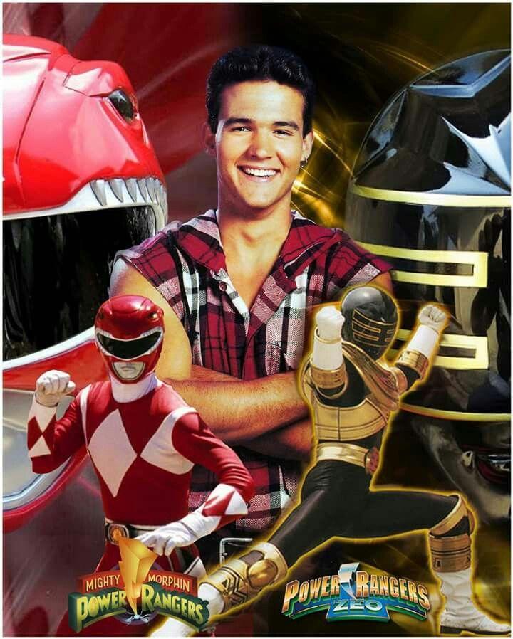 (Jason Lee Scott) Mighty Morphin Red Ranger and Gold Zeo Ranger