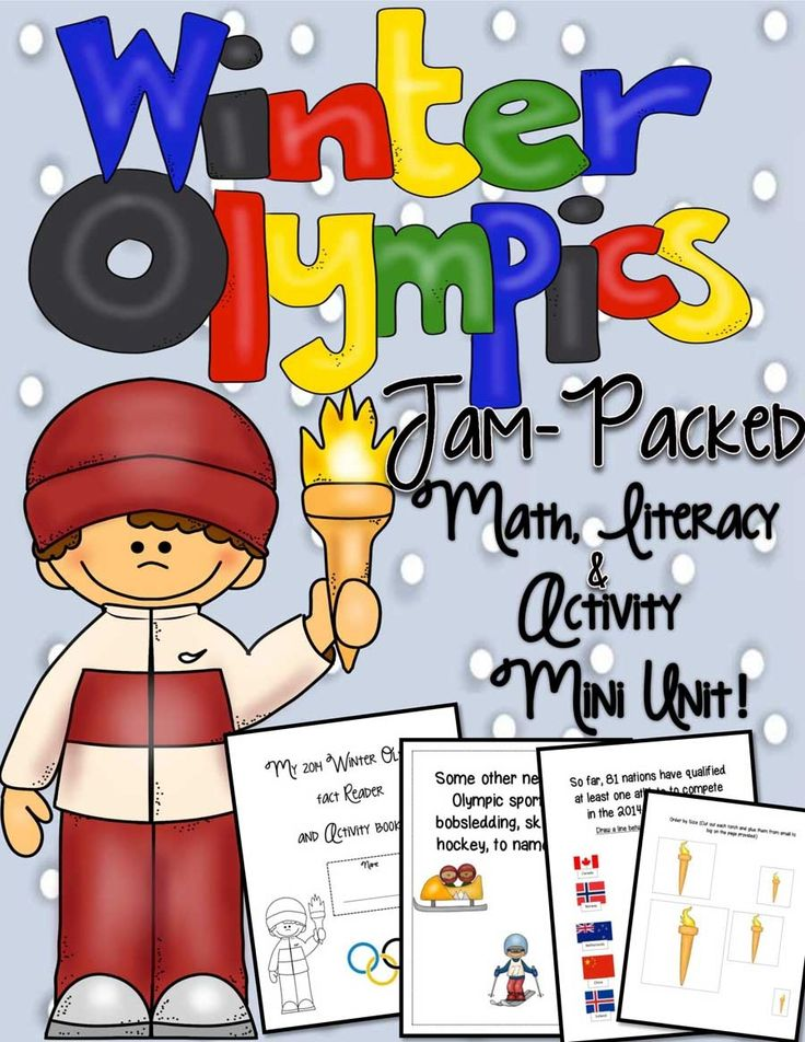 Winter Olympics 2014 Jam-Packed Mini Unit 62 Pages - Engaging Lessons | CurrClick