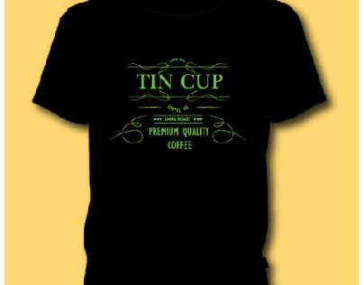 """Check out my @Behance project: """"tin cup logo design"""" https://www.behance.net/gallery/51884741/tin-cup-logo-design"""