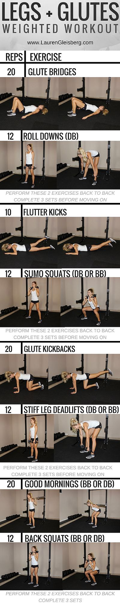 WORKOUT OF THE DAY: LOWER BODY STRENGTH