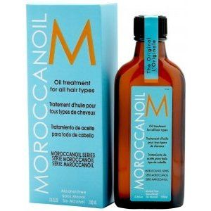 moroccan oil does wonders for my hair - I use it every single day!