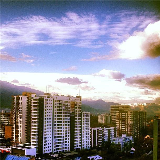 Santiago, mañana de viernes 09:20