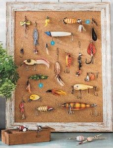 259 best coastal wall decor shop diy images on for Fishing lure decor