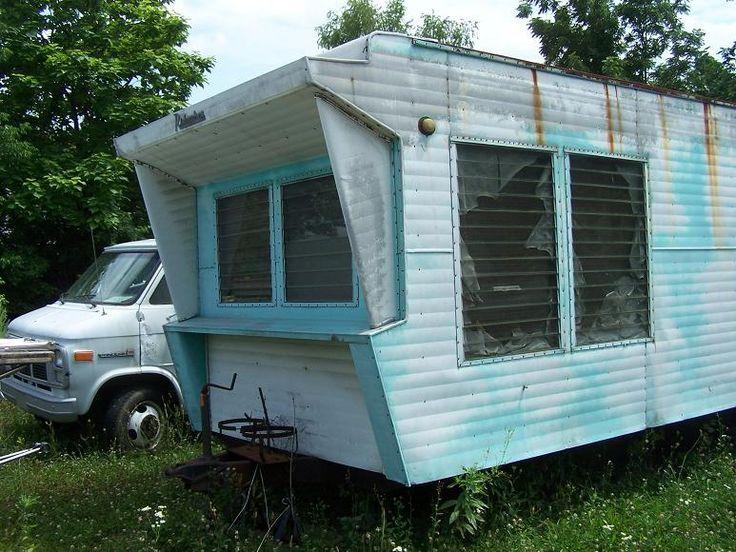 108 best vintage mobile images on Pinterest | Vintage campers, Vintage  caravans and Vintage trailers