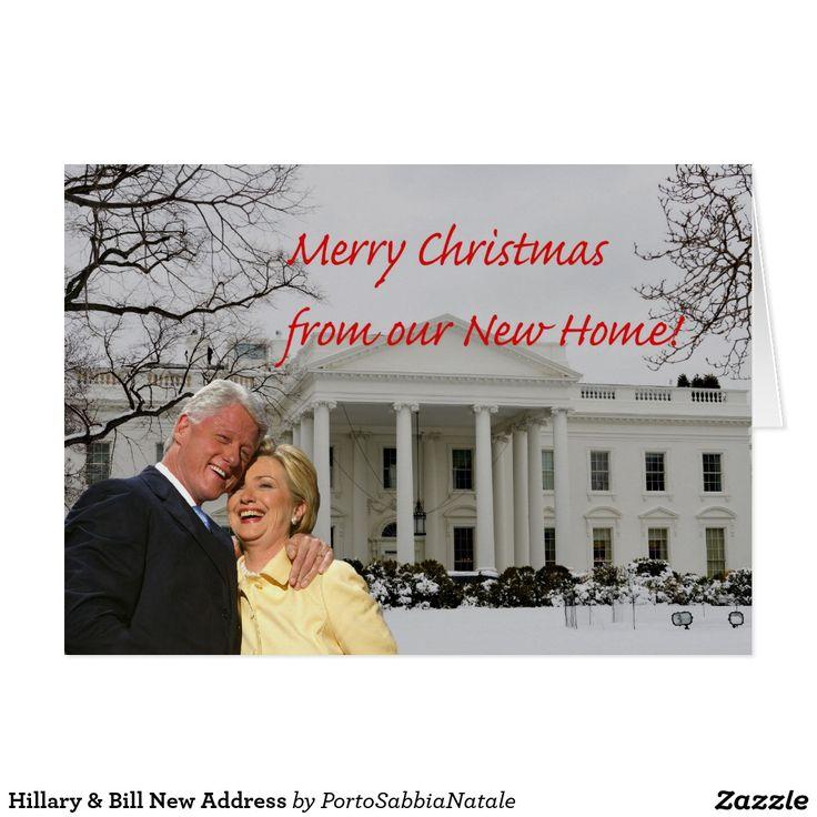 Hill & Bill New Address Card