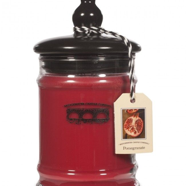 Bridgewater Candle Co. Large 18.5oz Jar Candle - Pomegranate - Scented Candles - Home Fragrance