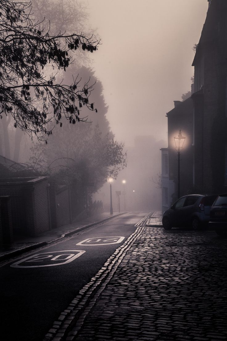 Lights Within Fog, London - By Freddie Ardley Photography