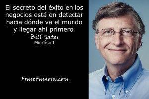 Frases de Bill Gates - Frase Famosa - Frases de Exito