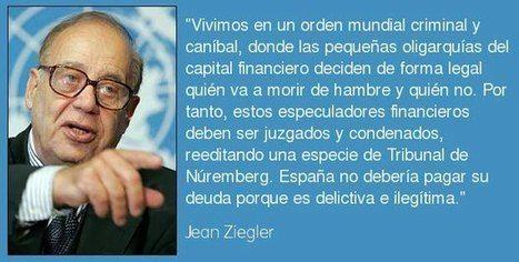 PASALO El vicepresidente de la ONU dice que ESPAÑA NO DEBE PAGAR LA DEUDA Que corra como la pólvora OBLIGADA LECTURA | LO + VISTO en la WEB | Scoop.it