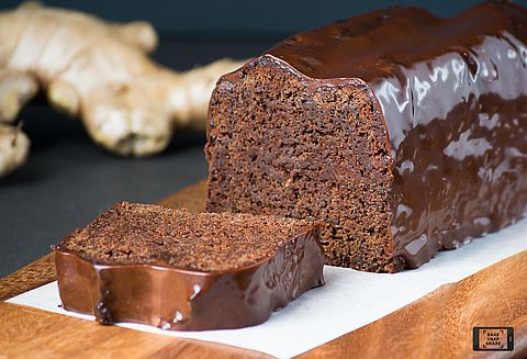 Moist Chocolate Ginger Cake | Fresh ginger and chocolate is a delightful combination and celebrated in this delectably moist cake. An instant classic.