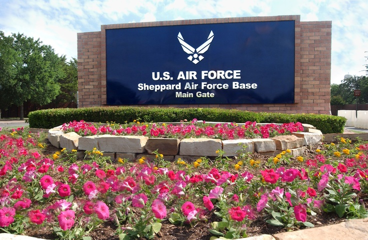 Sheppard AFB Wichita Falls Tx  Rocks Tech School and where Kevin was born. The 2 best things that ever happened here ;)