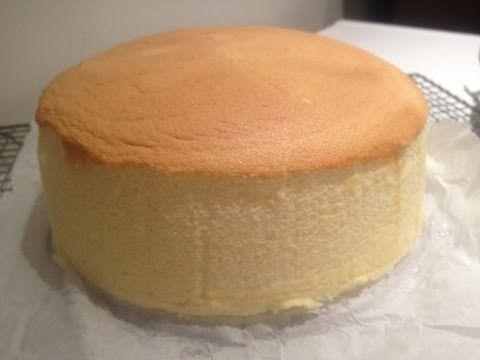 Japanese Cotton Cheese Cake- Minimize Shrinkage - YouTube