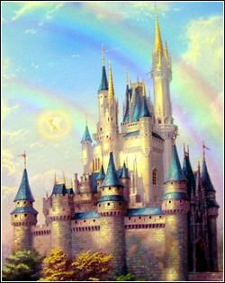 Cinderella's Castle by Thomas Kinkade