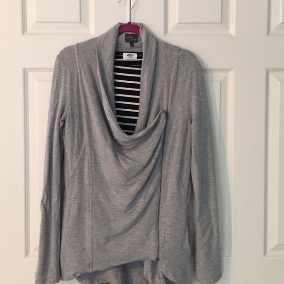 "Market&Spruce Stitch Fix Asymmetrical Zip Jacket super soft and cozy! heathered grey French terry knit jacket with asymmetrical zipper from Market&Spruce for Stitch Fix. features a fitted silhouette with a draped neckline when zipped or leave unzipped for more casual style. back is longer by approx. 4"". 95% rayon and 5% spandex. size large. excellent condition - worn just twice. Stitch Fix Jackets & Coats"