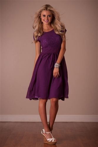 Purple Isabel Modest Dress by Mikarose, Vintage Dress, Church Dresses, dresses for church, modest bridesmaids dresses, trendy modest, modest office clothing, affordable boutique dresses, cute modest dresses, mikarose, trendy boutique, pink dress
