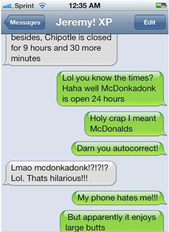 Best Auto Correct Screw Ups III Images On Pinterest - 24 hilarious pictures will make day instantly better 9 best ever