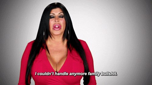 I can't handle anymore family bullsh*t. #BigAng