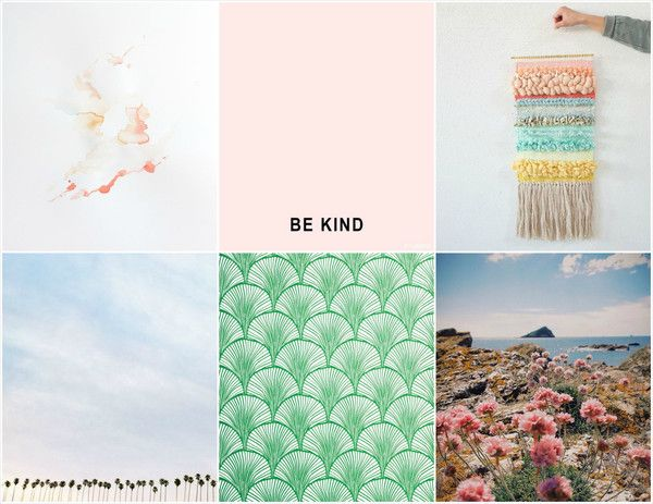 Hello, April - a new blog post on current inspiration
