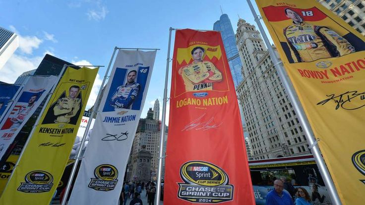 The Chase is on: Chicagoland NASCAR TV schedule | FOX Sports