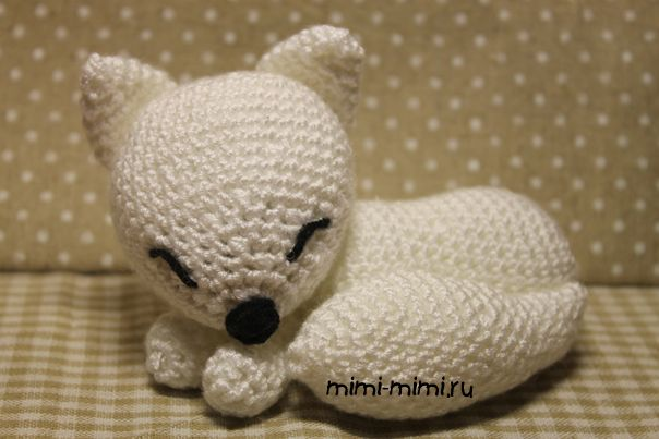 Белая лиса